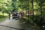 Übung Verkehrsunfall 30.06.2014