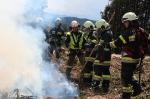 Waldbrandübung Kömmel_129