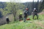 Waldbrandübung Kömmel_145